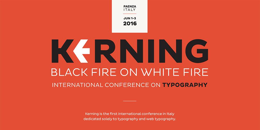 Kerning Conference 2016