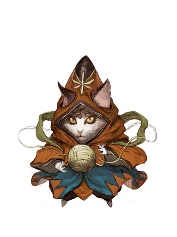 I D&D Kittens di Tahra Art