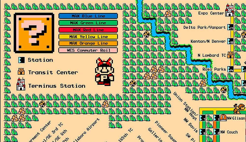 In metropolitana con Mario