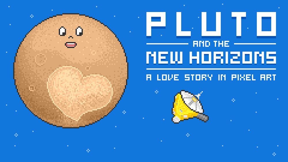 Pluto and the New Horizons, una storia d'amore in pixel art