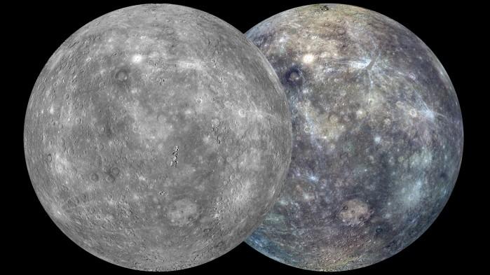 Mappa globale di Mercurio