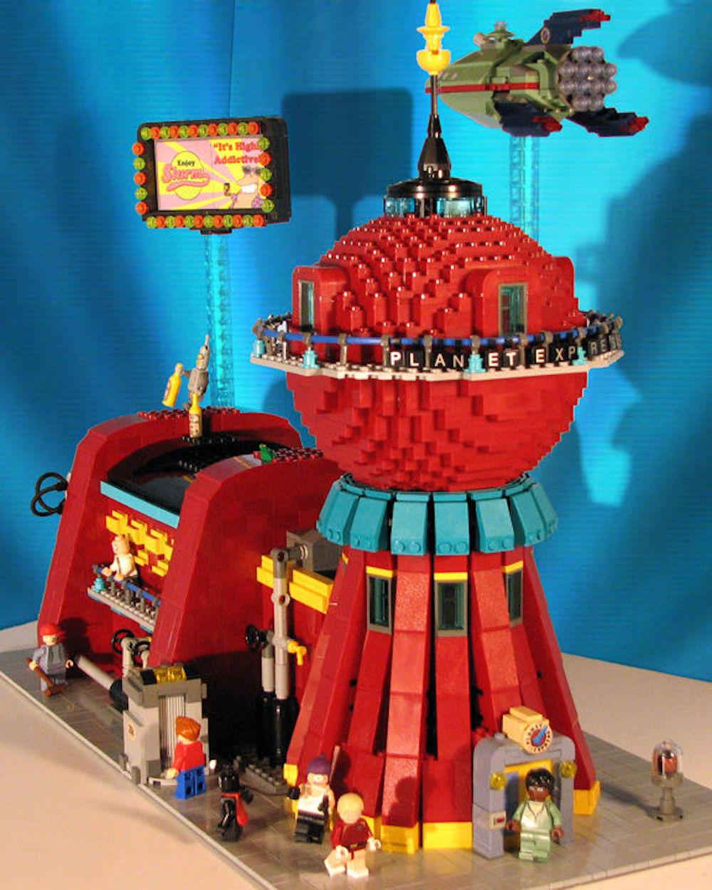 Lego: il diorama di Futurama