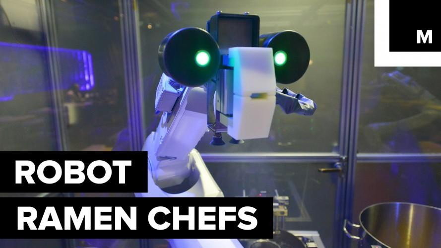 Koya e Kona, i Robo-Chef di Shangai