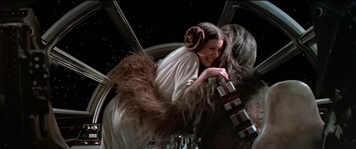 star wars - victory hug