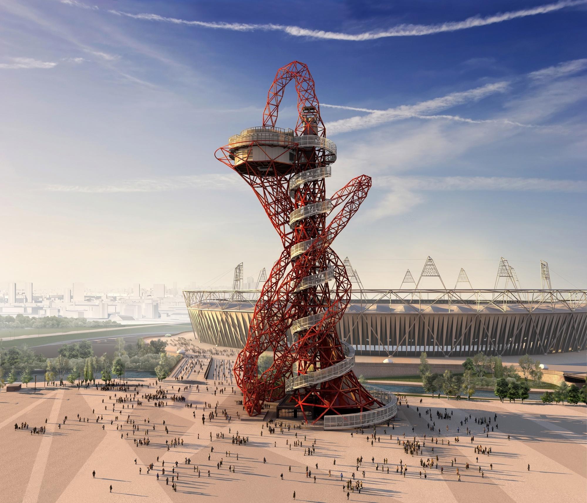 ArcelorMittal Orbit, una scultura da cui ammirare Londra