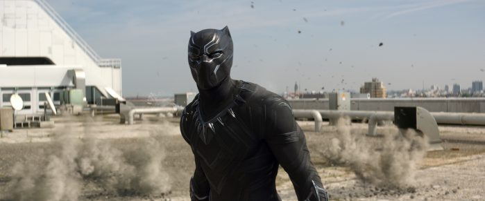 Marvel's Captain America: Civil War..Black Panther/T'Challa (Chadwick Boseman)..Photo Credit: Film Frame..© Marvel 2016