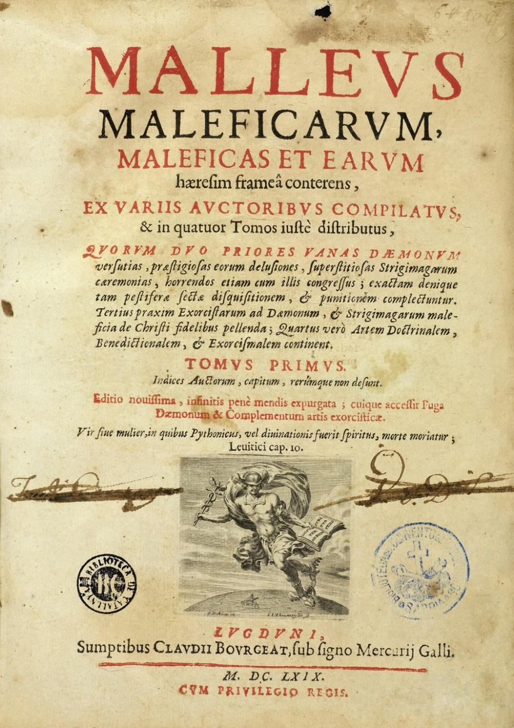 J._Sprenger_and_H._Institutoris,_Malleus_maleficarum._Wellcome_L0000980