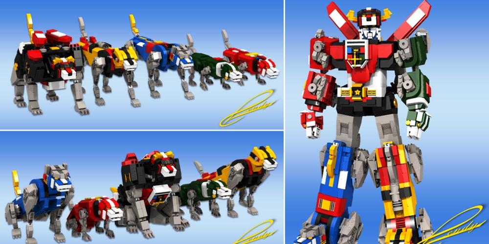 LEGO Voltron è un progetto fan made di LEGO Ideas