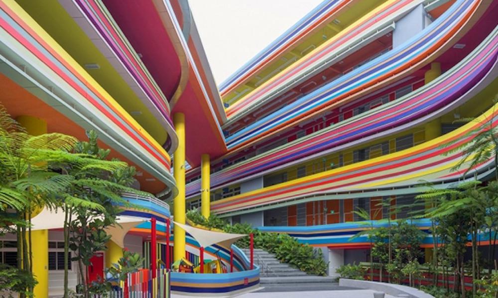 Benvenuti nella scuola arcobaleno di Singapore