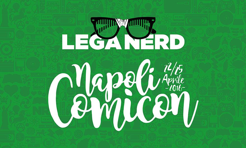 Lega Nerd al Napoli Comicon 2016