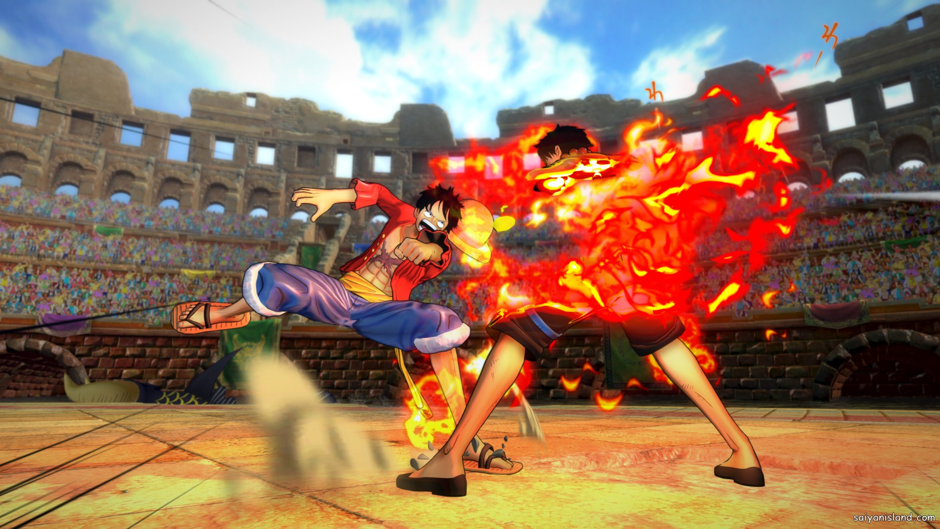 One Piece: Burning Blood, scopriamo Smoker e Sengoku