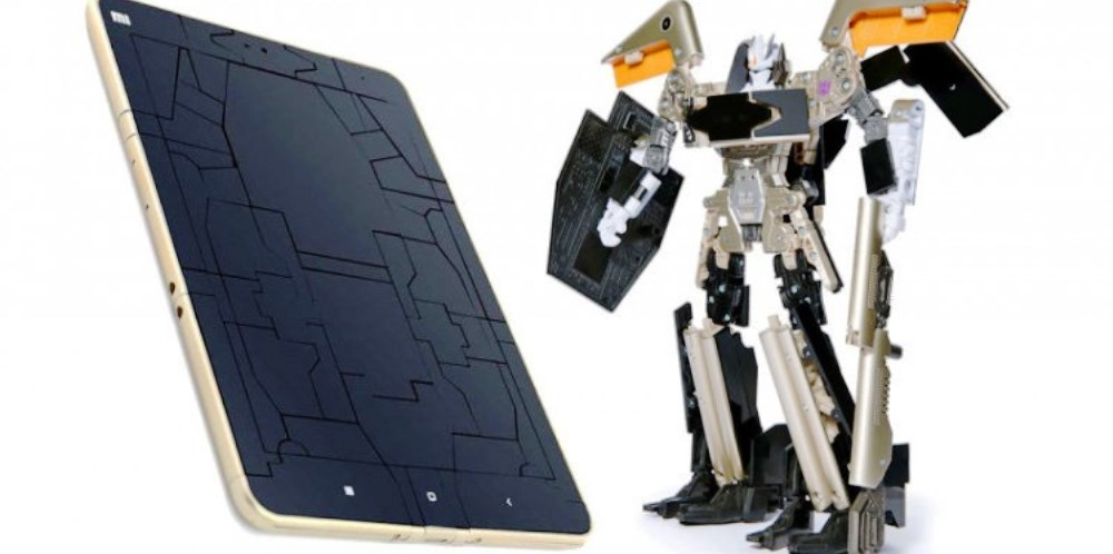 Mi Pad 2 Sound Wave Transformers, il tablet giocattolo di Xiaomi e Hasbro