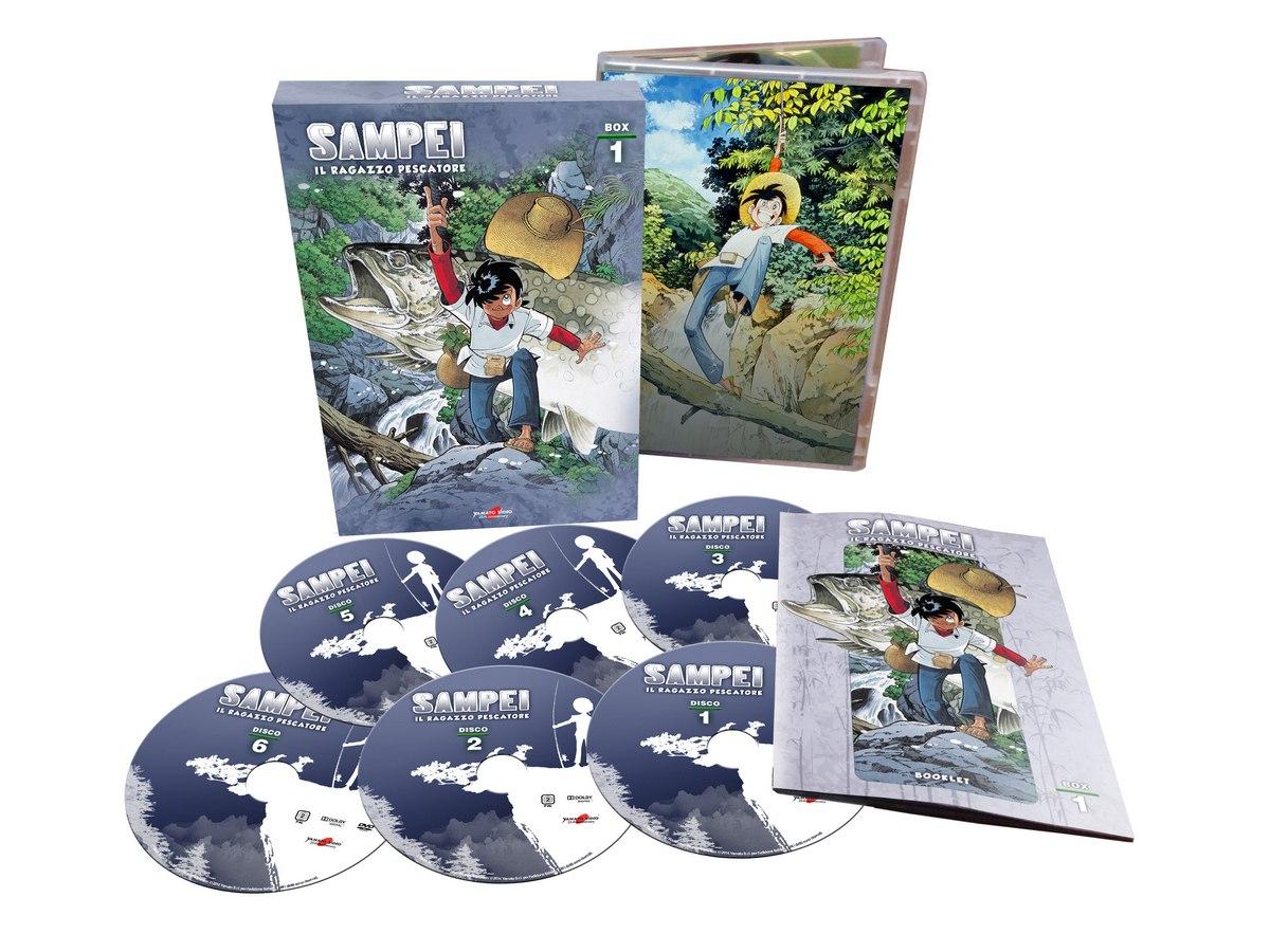 Sampei, Arriva la Serie Completa in DVD