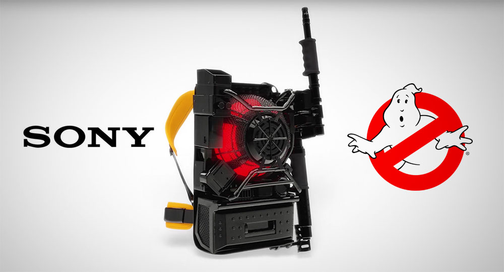 Sony presenta lo Zaino Protonico
