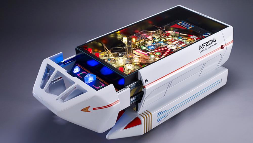 Star Trek: il tavolino da caffè che è anche un flipper