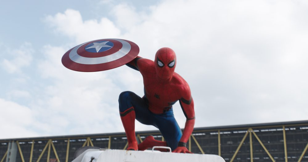 Marvel's Captain America: Civil War..Spider-Man/Peter Parker (Tom Holland)..Photo Credit: Film Frame..© Marvel 2016
