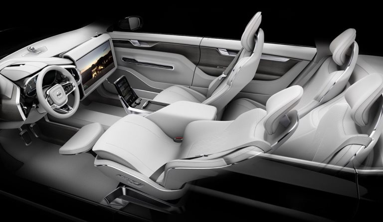 Volvo auto senza pilota
