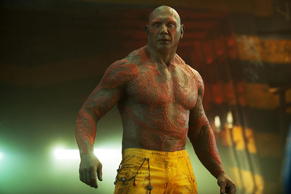 Guardiani della Galassia 3 sarà l'ultimo film con Drax