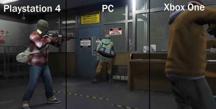 GTA 5 su PC, PS4 e Xbox One