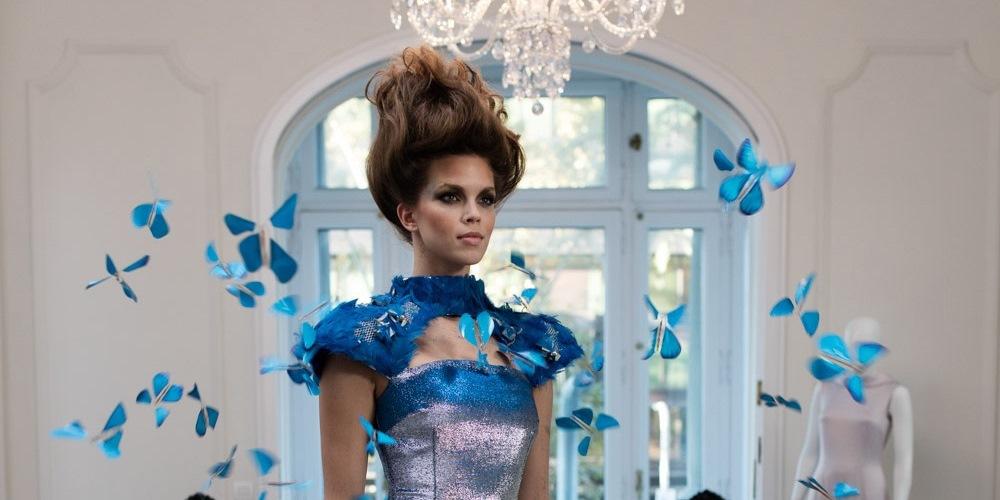 Butterfly Dress, moda e tecnologia si incontrano nel vestito farfalla