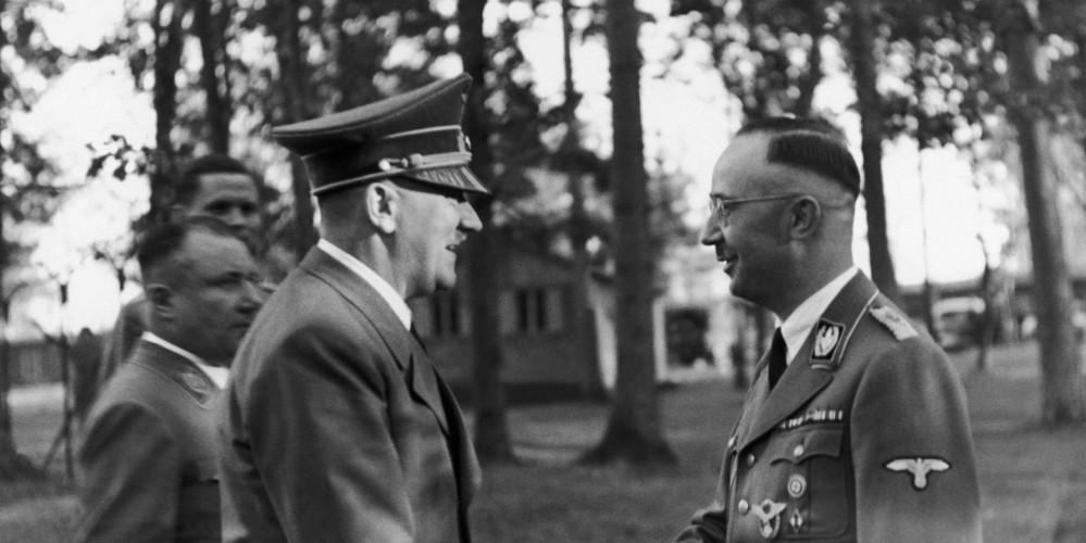 Hitler Congratulating Himmler On His Birthday In 1943