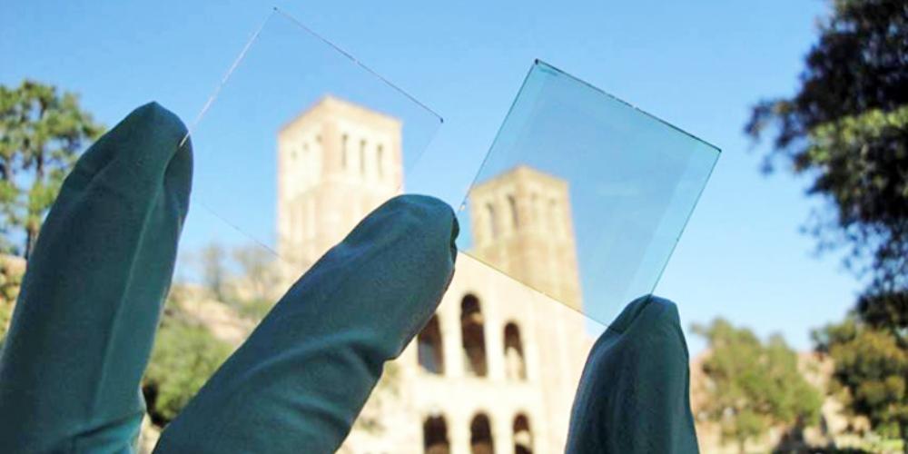 Finestre più smart con pannelli solari al grafene