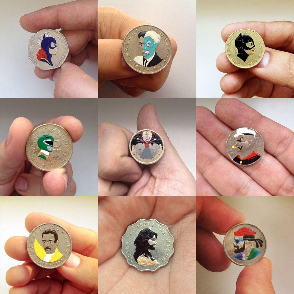 La raccolta di monete pop di Andre Levy