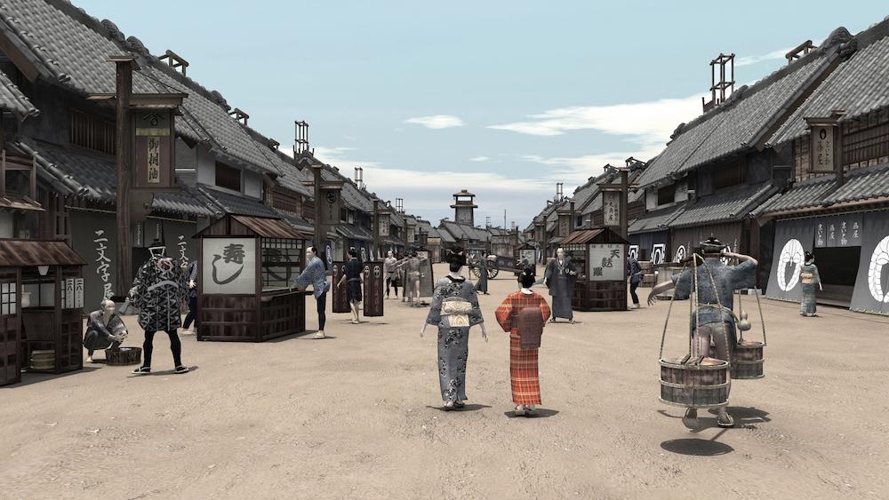 Edo VR, Tokyo feudale in Realtà Virtuale