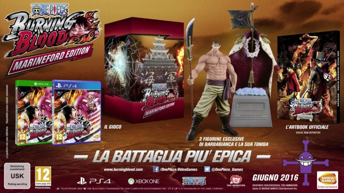 One Piece: Burning Blood - Marineford Collector's Edition