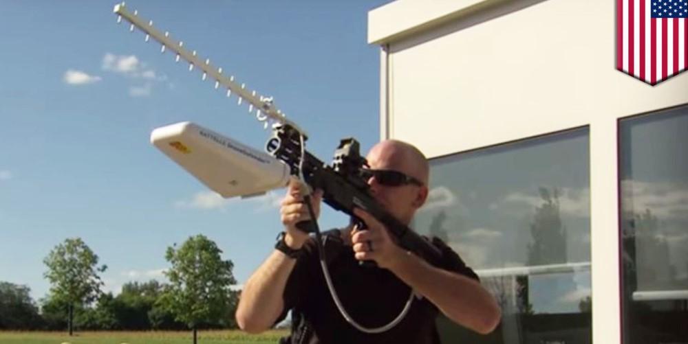 DroneDefender, il fucile anti drone