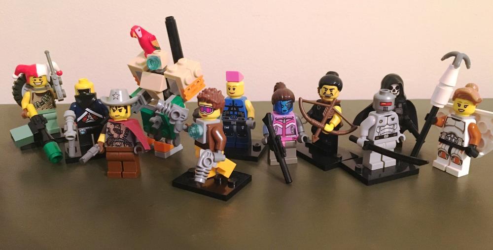 Lego Fan Builds