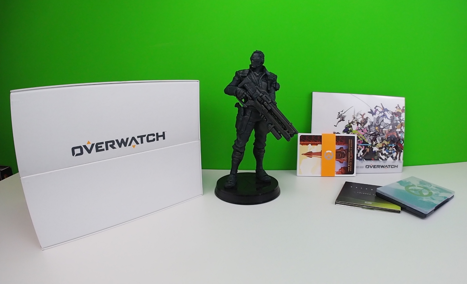 Overwatch Collector's Edition #IncautoUnboxing