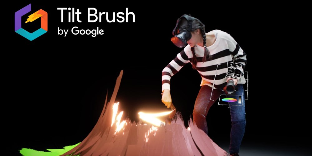 Tilt Brush, l'app di Google per disegnare in VR