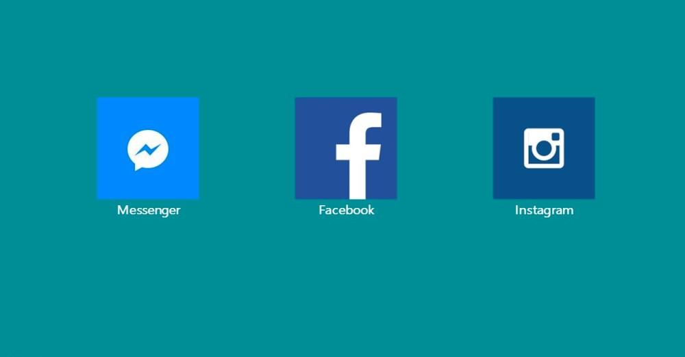 Facebook, Messenger e Instagram aggiornate anche su Windows 10