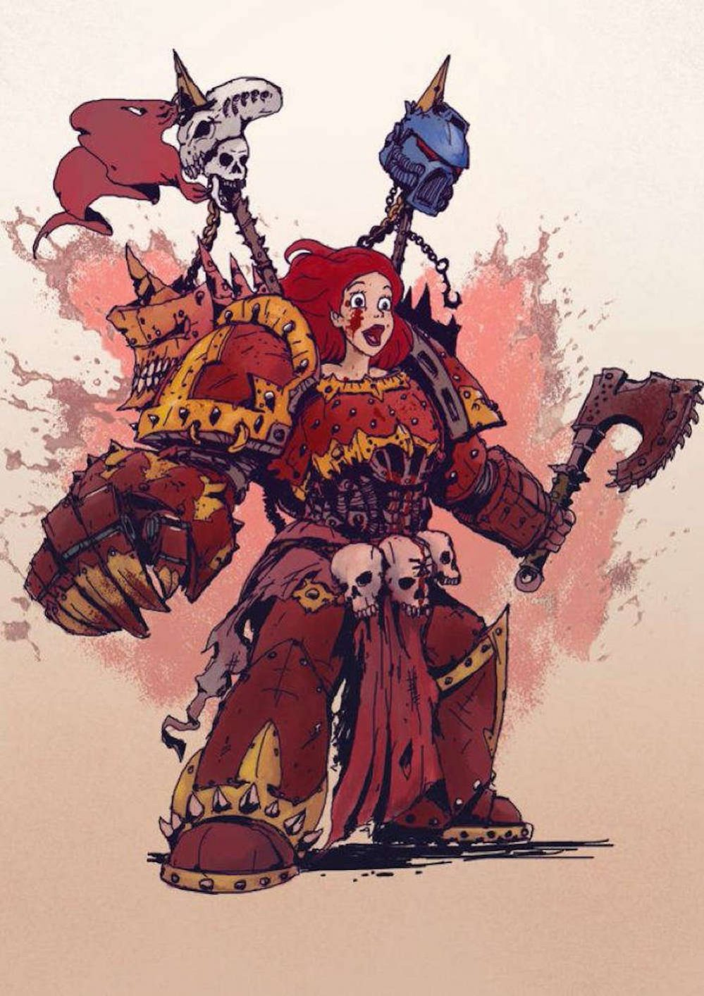 disney-princesses-reimagined-as-badass-warhammer-40k-space-marines