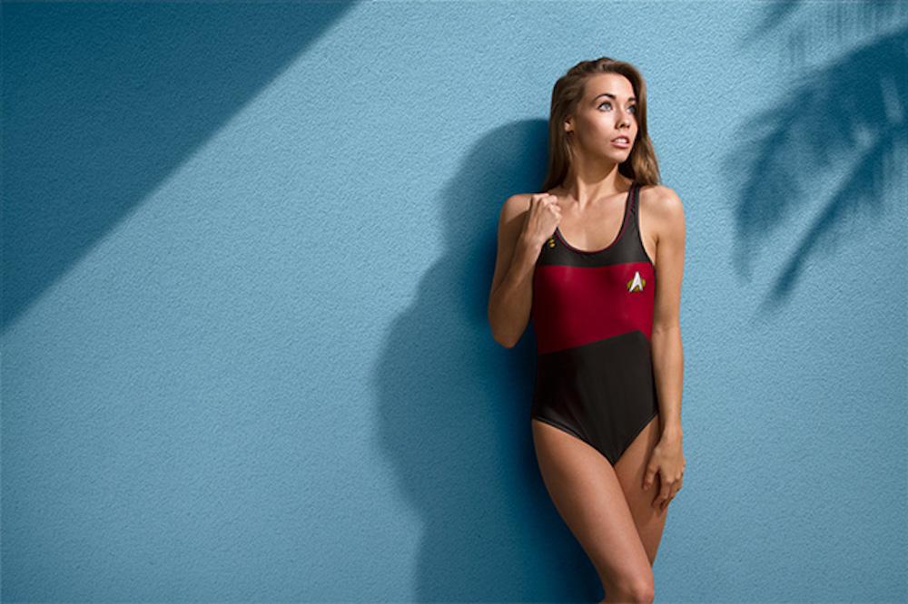 Trekini, la swimwear spaziale