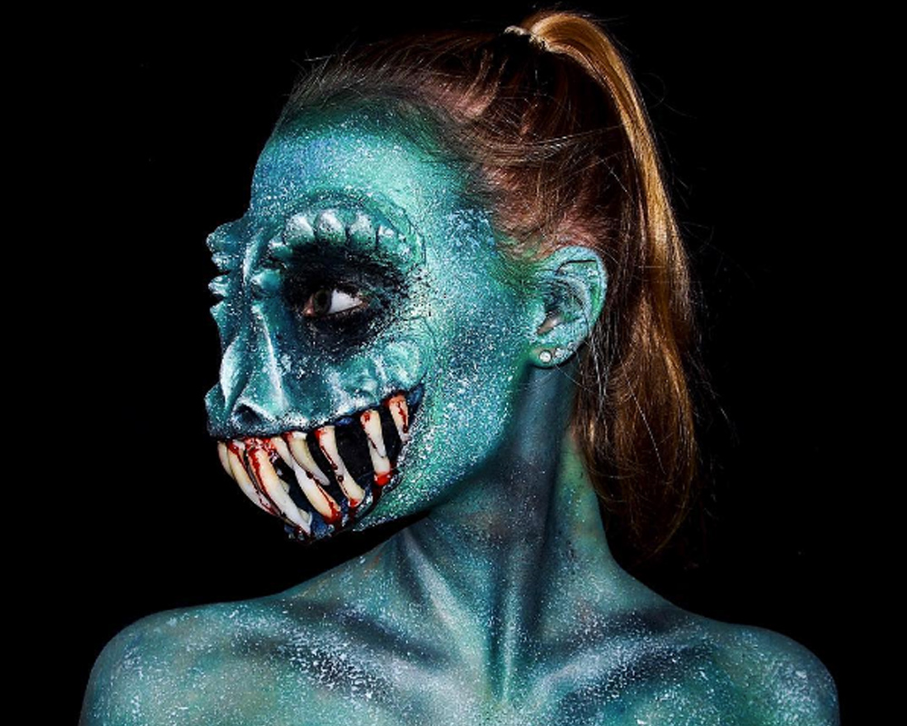 Lara Wirth, la ragazza prodigio dell'FX Make Up