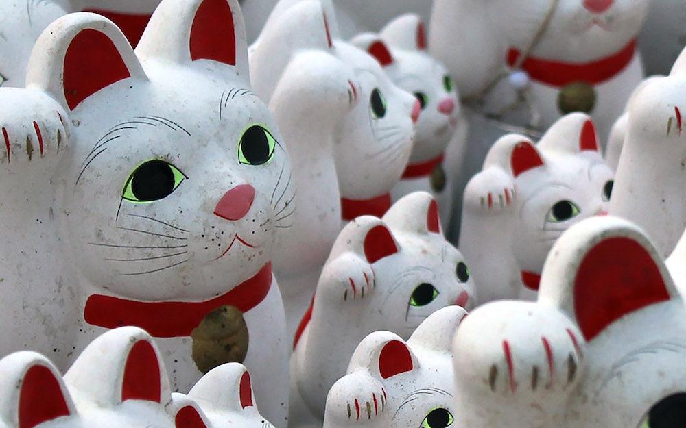 Gotokuji, il tempio del gatto portafortuna