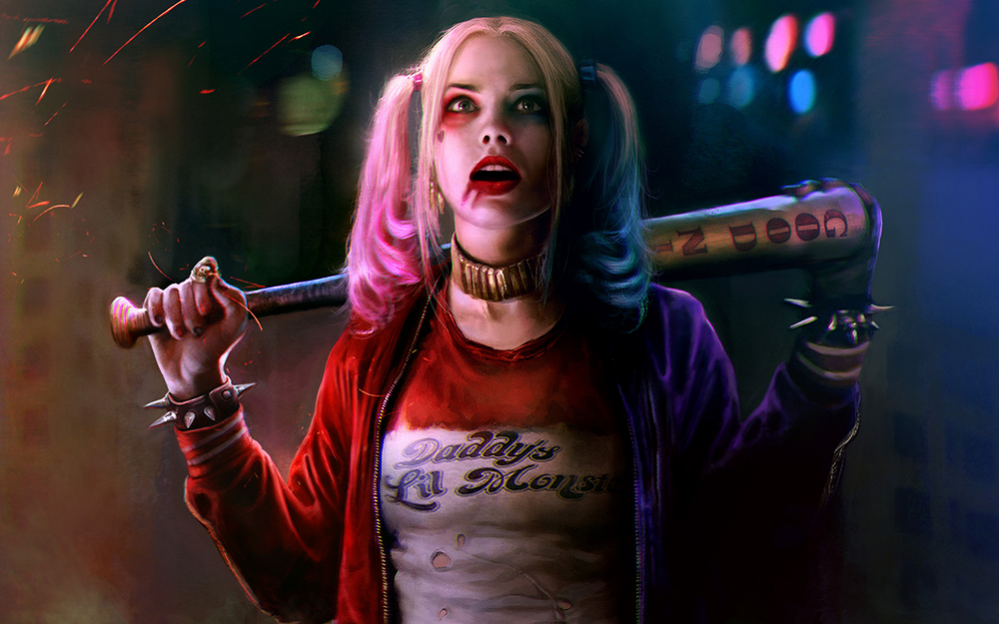 margot-robbie-as-harley-quinn-4k