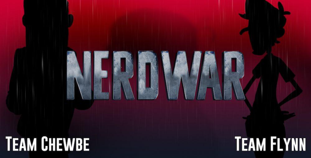 nerd war poster