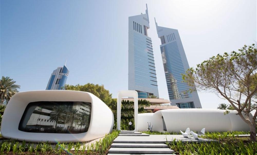 Dubai, ecco il primo edificio stampato in 3D