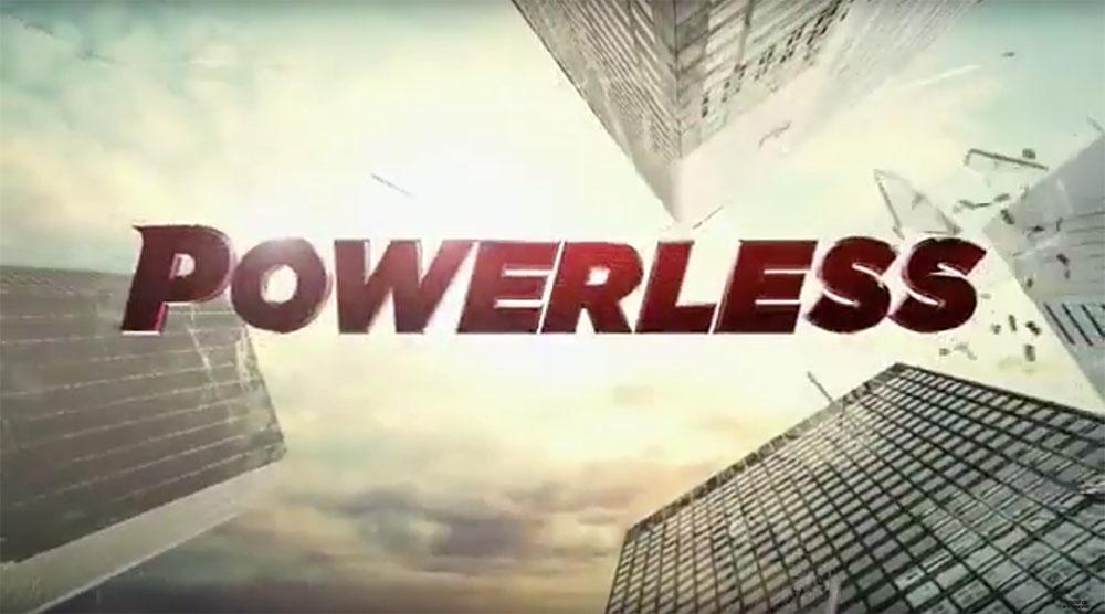 Powerless, Official Trailer