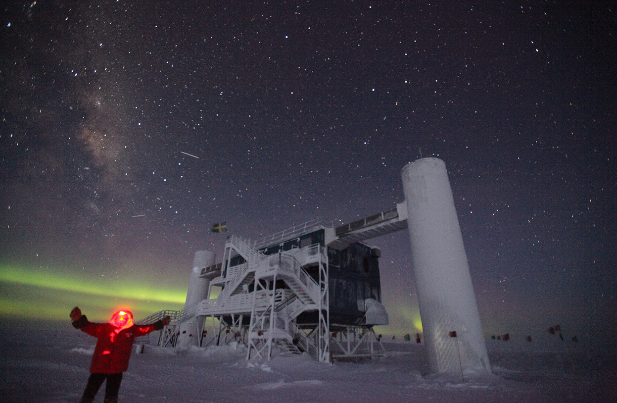 Evacuazione d'emergenza al Polo Sud