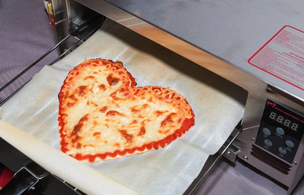 BeeHex, il robot che stampa la pizza in 3D