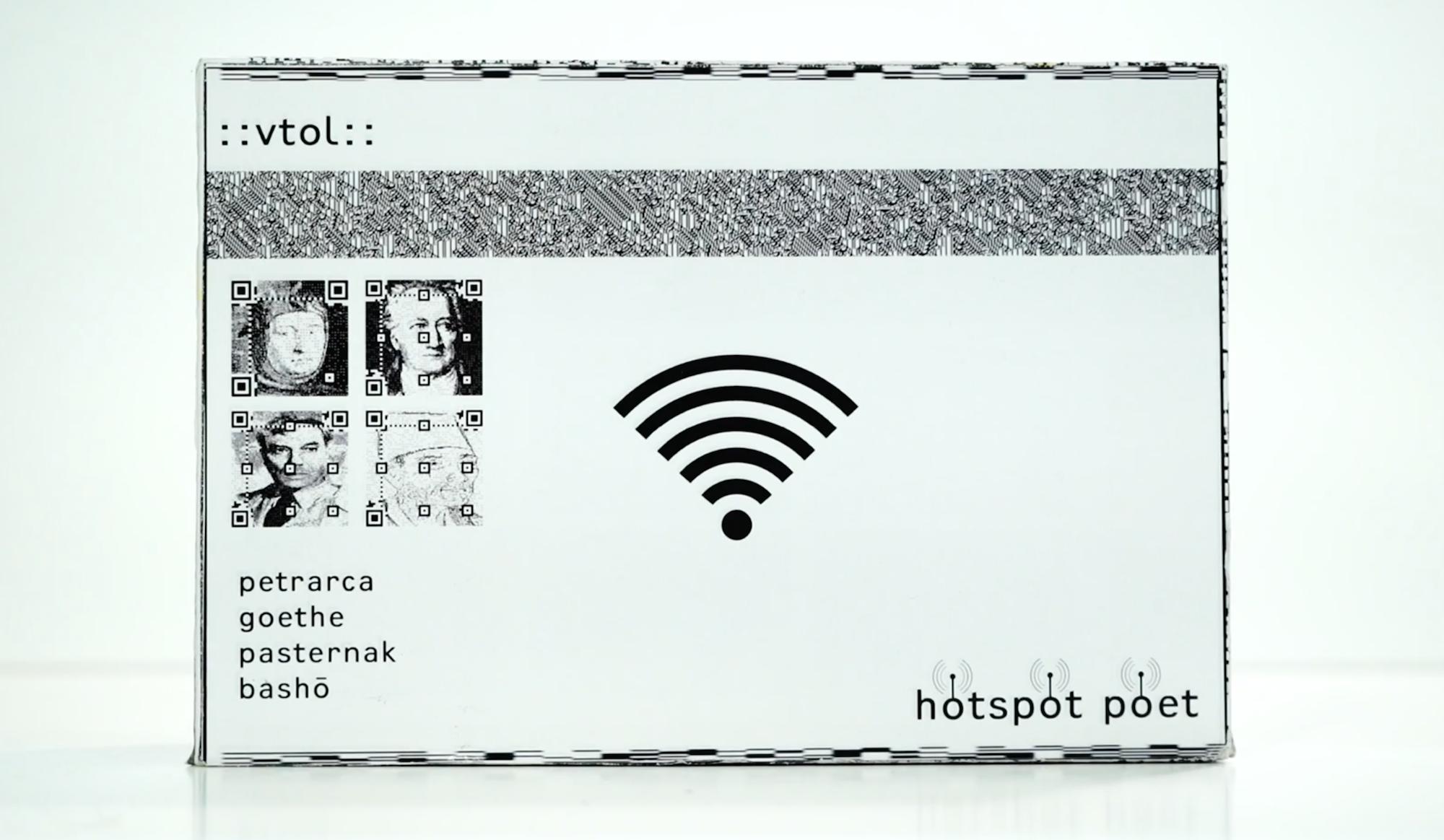 Hotspot Poets, la poesia diventa wifi