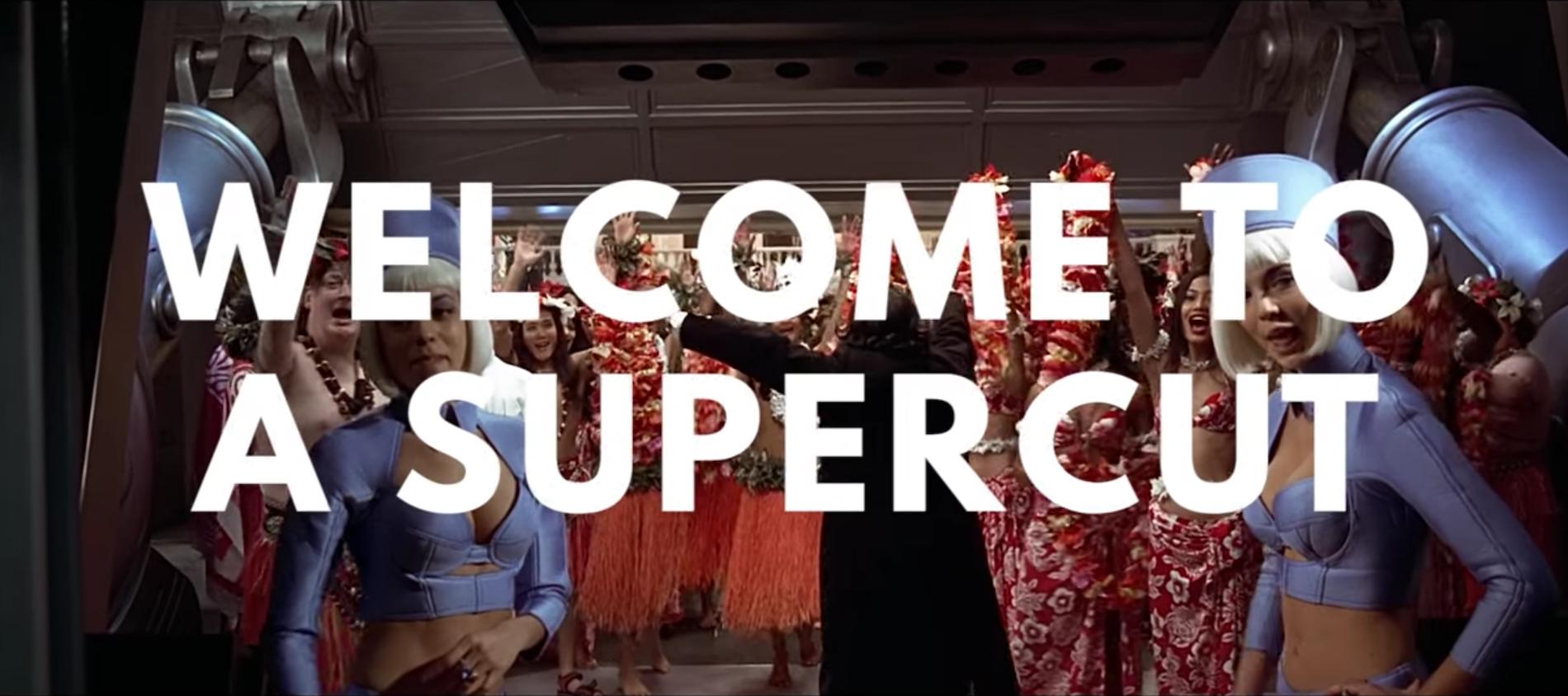 Welcome To A Supercut, il mash-up di benvenuto