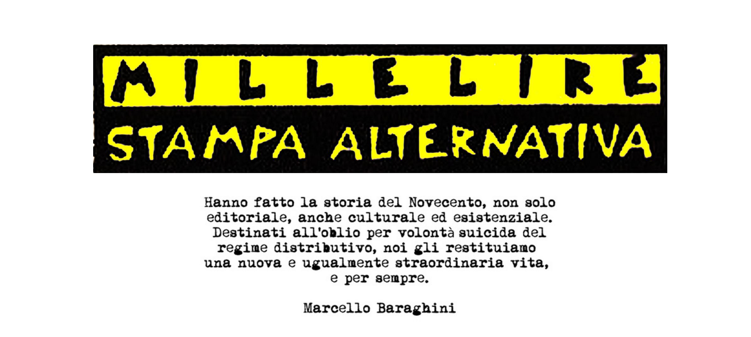 I libri Millelire ora disponibili in free download