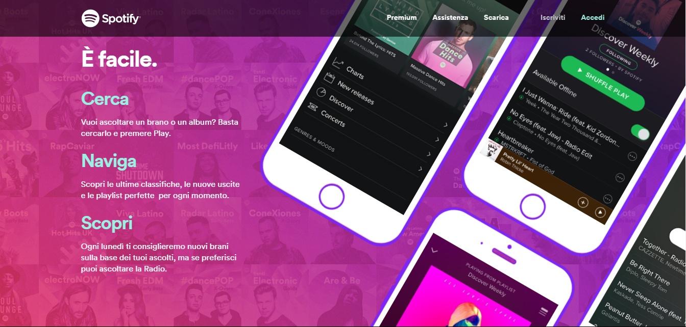 Spotify raggiunge 40 milioni di abbonati