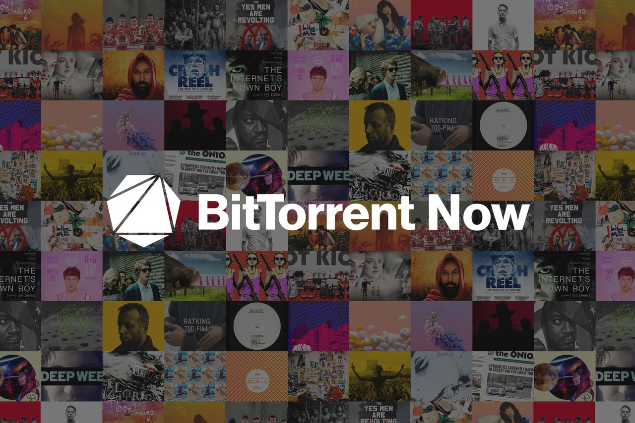 BitTorrent Now, l'app per musica e film indie in streaming