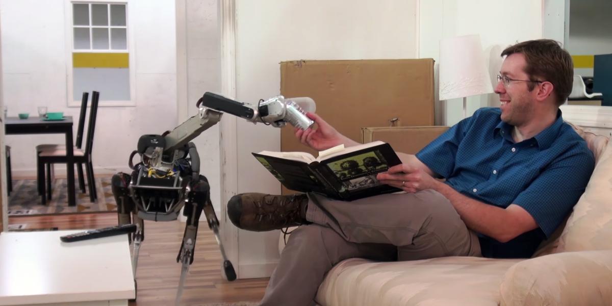 SpotMini, il nuovo robot di Boston Dynamics